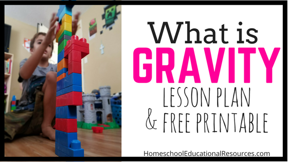Gravity Lesson Plan With Blocks: Kindergarten Gravity Lesson