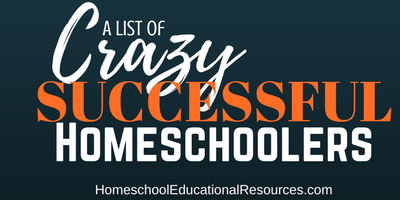 Crazy Successful Homeschoolers!